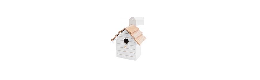 Domki i gniazda dla ptaków
